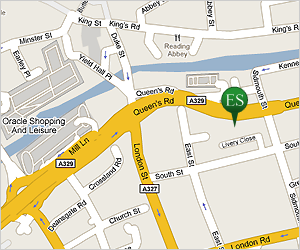 Click for directions and map to Edwin Smith offices, Reading